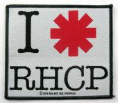 Red Hot Chili Peppers - 'I Love RHCP' Woven Patch
